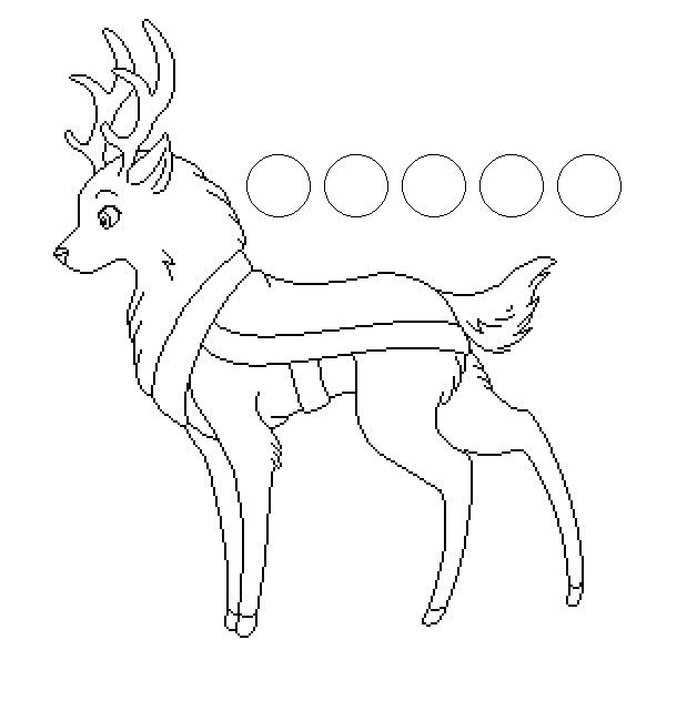 reindeer line art by SonaLover on DeviantArt