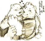 Sketch: Bighammer Loves Rose (Sdorica)