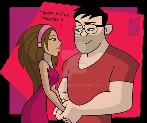 (Late) Happy birthday to Sharper!