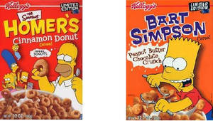 Old Simpsons Cereals by jhwink