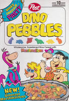 Dino Pebbles Cereal by jhwink