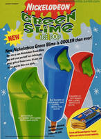 Nickelodeon Green Slime Pops by jhwink