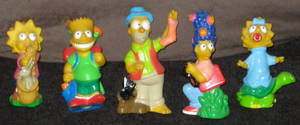 Burger King Simsons Camping Toys (1990) by jhwink