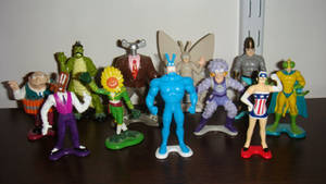 Tick Figures by Bandai (1994-1995) by jhwink