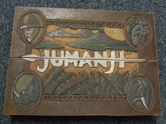 Jumanji Board game replica by FortuneandGlory