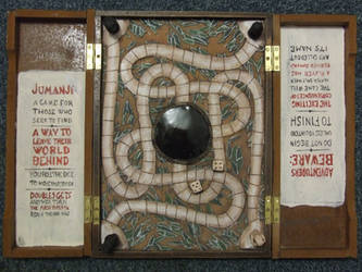 Jumanji Board, interior by FortuneandGlory