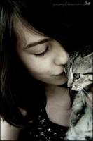Kitty kiss. by Powerpiill
