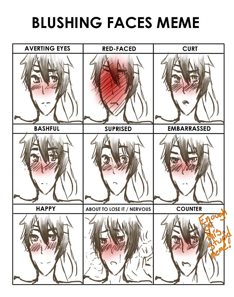 Blushing Face Meme Hetalia Lraberinfo