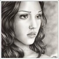 Jessica Alba - The beauty by Zindy