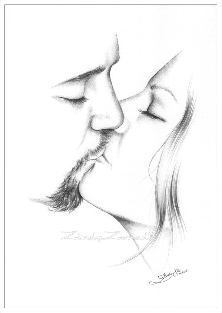 A Kiss For My Love By Zindy On DeviantArt