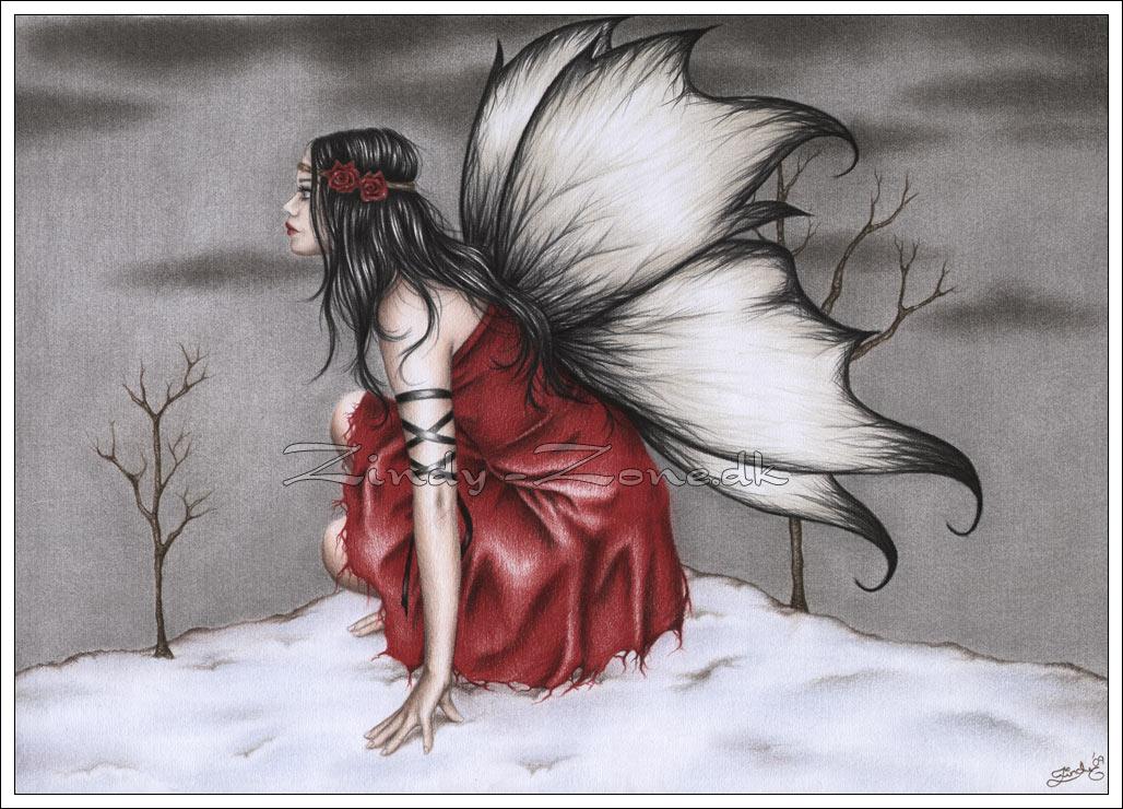 Red Winter Fairy