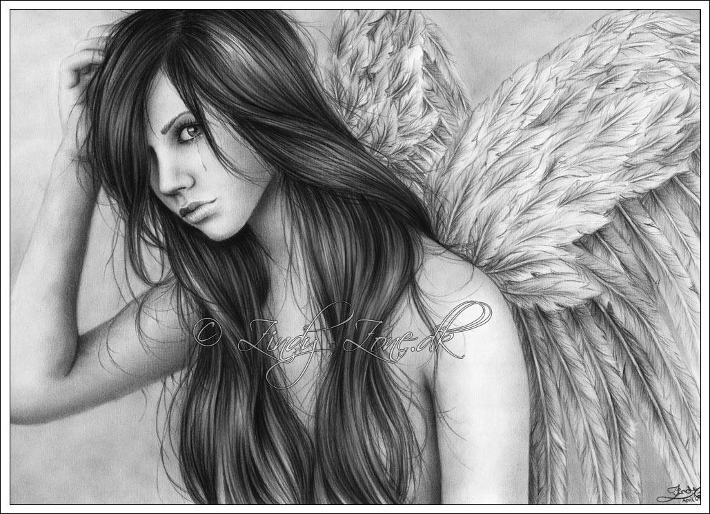Angel Tears by Zindy