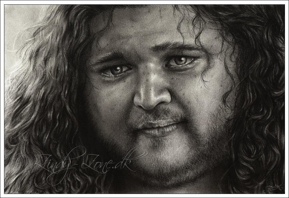 dibujos - dibujos hiper realistas Jorge_Garcia_as_Hurley_by_Zindy