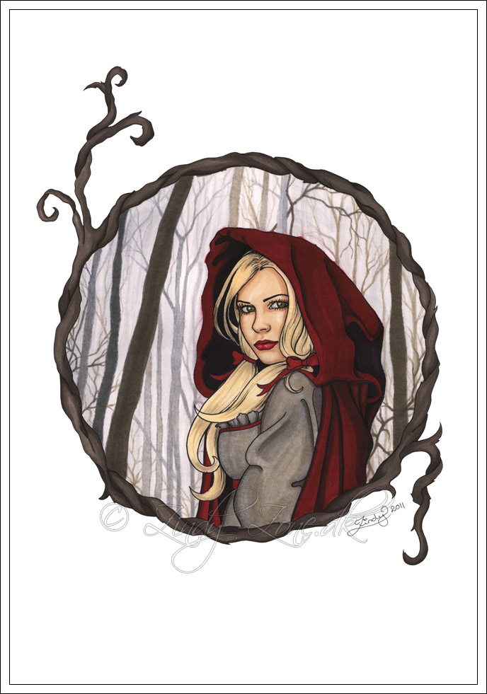 Red Riding Hood by Zindy