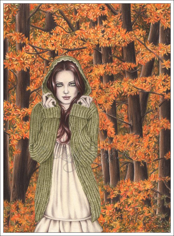 Autumn Walk by Zindy