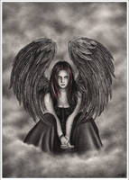 An angel too soon by Zindy