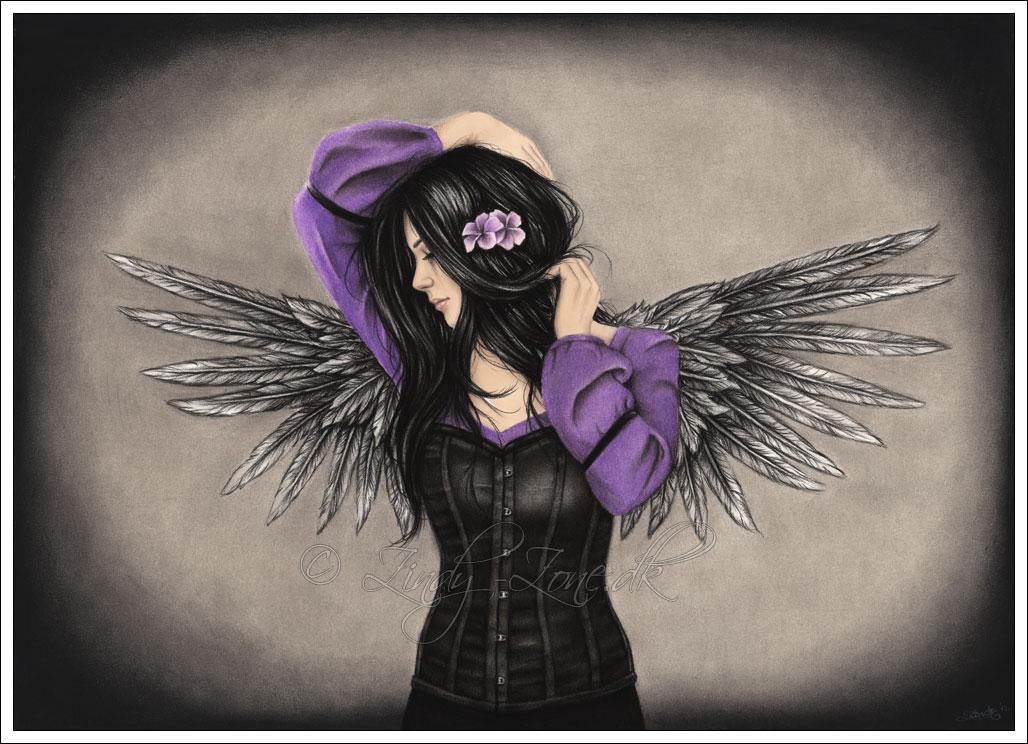 Картинки эмо ангела