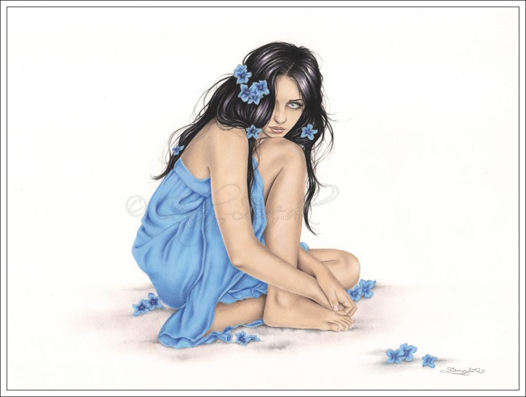 Winter Blue by Zindy