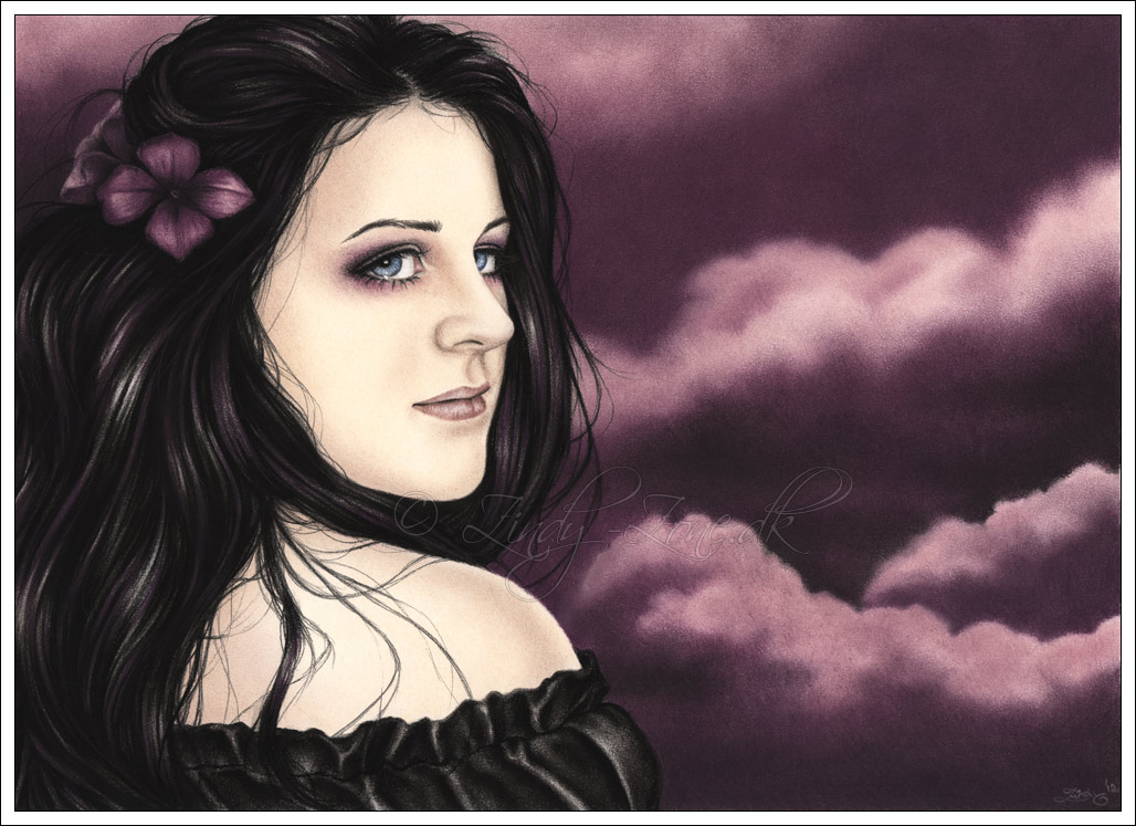 Purple Dreamland by Zindy