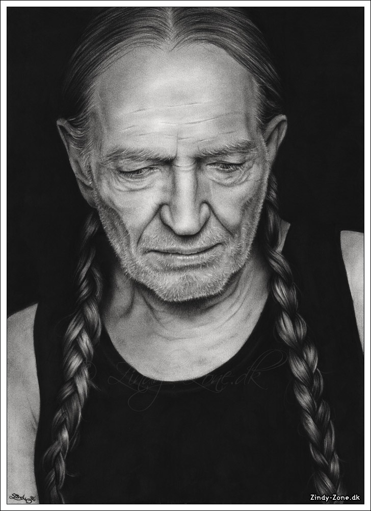Willie Nelson by Zindy