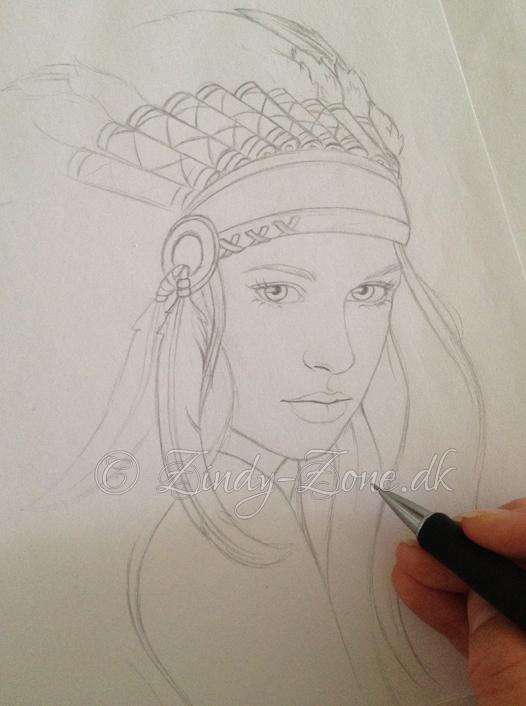 Indi Sketch by Zindy