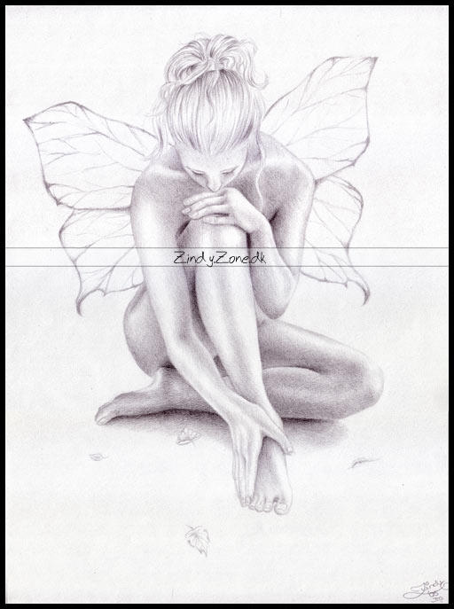 Emotional Lines In Art : Butterfly girl by zindy on deviantart