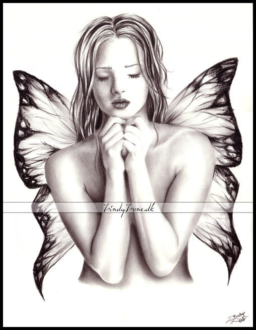 Butterfly Girl 2 by Zindy