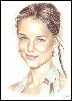 Katie Holmes in colour