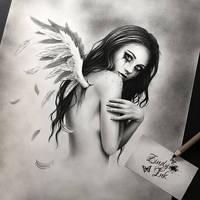 Broken Angel WIP by Zindy