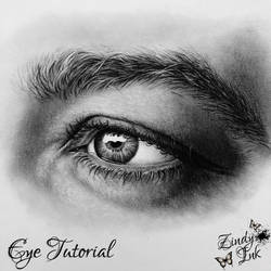 Charcoal Eye Tutorial