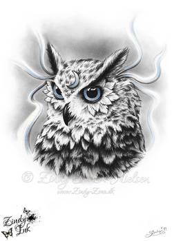 Moon Spirit Owl