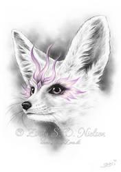 Crystal Spirit Fennec Fox