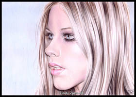 Avril Lavigne 16 by Zindy