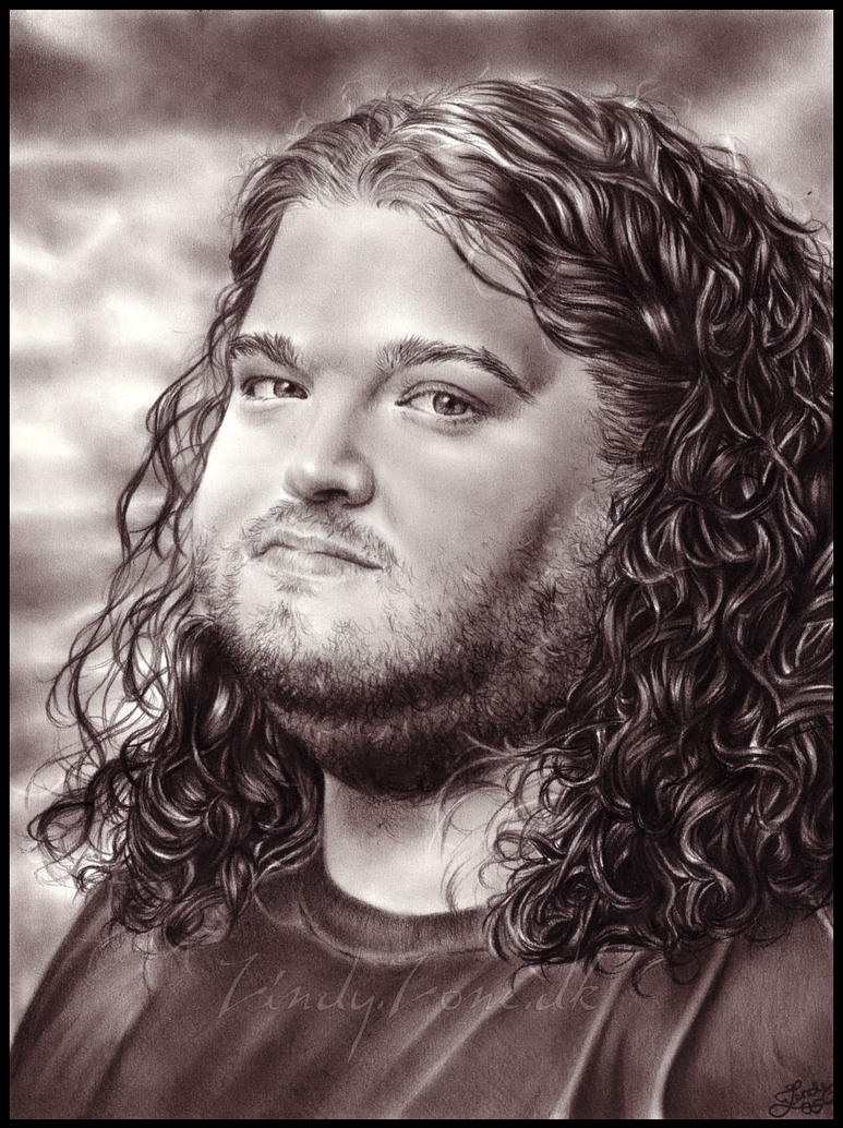 dibujos hiper realistas Hurley_from_Lost_by_Zindy