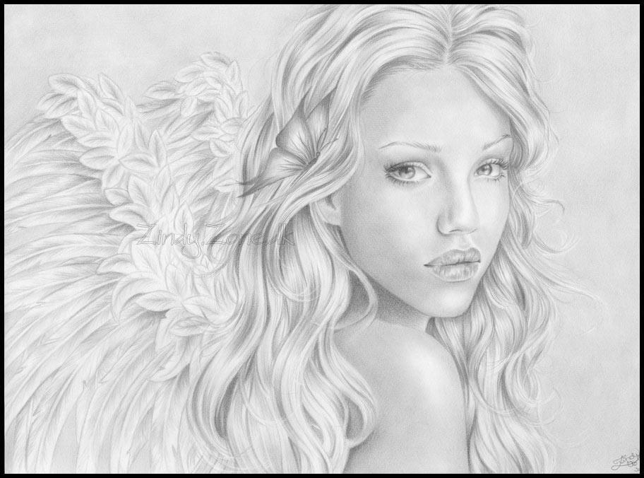 Angel of mine by Zindy
