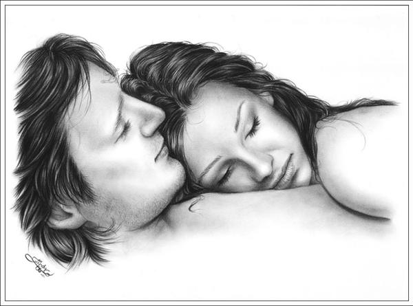 Peaceful in your arms