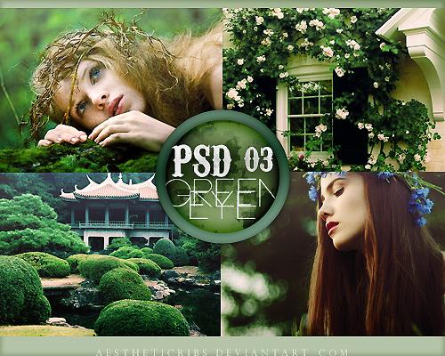 Green Eye PSD  previa by infidelibus