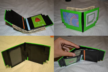 Duct Tape Captchalogue Wallet by Nizmir