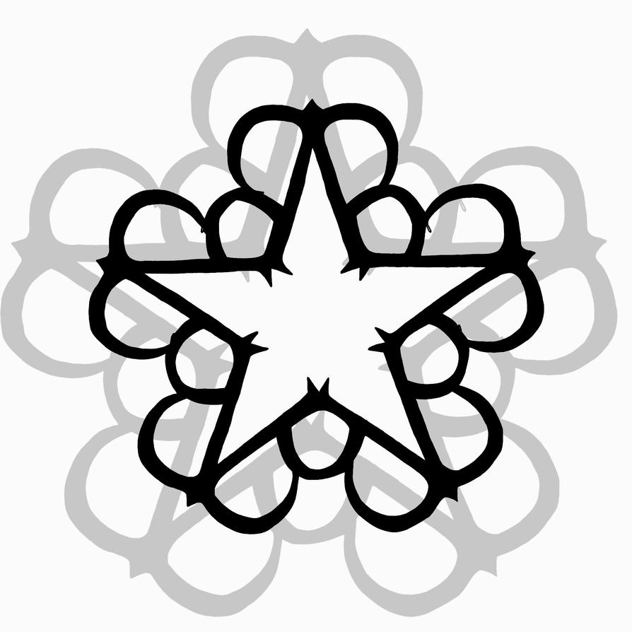 black veil brides star logo by xikatiex3 on deviantart