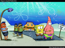 SpongeBob - August