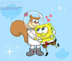 SpongeBob and Sandy by StePandy