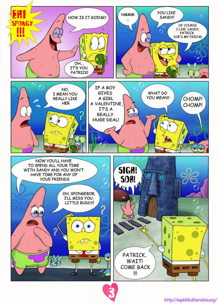 spongebob page 3 by stepandy on deviantart