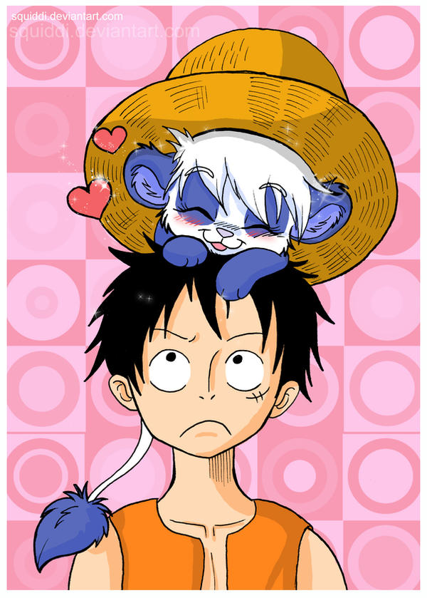 Hi Luffy by StePandy