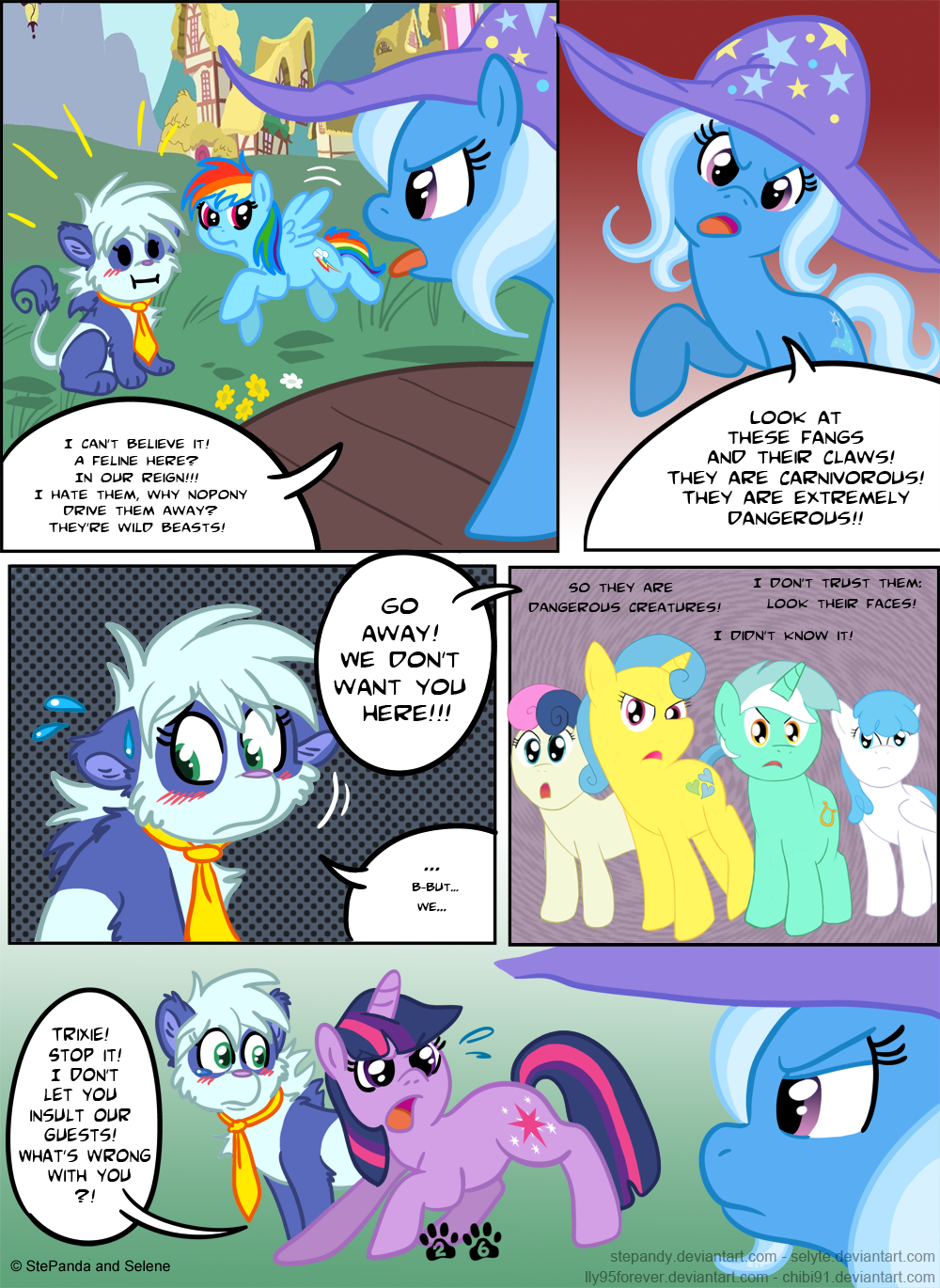 Equestria World - Page 26 by StePandy