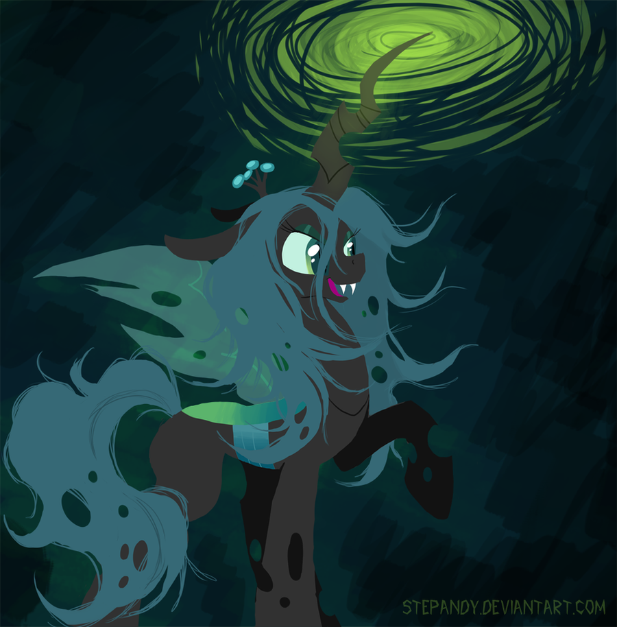 Queen Chrysalis by StePandy