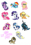 Chibi My Little Pony