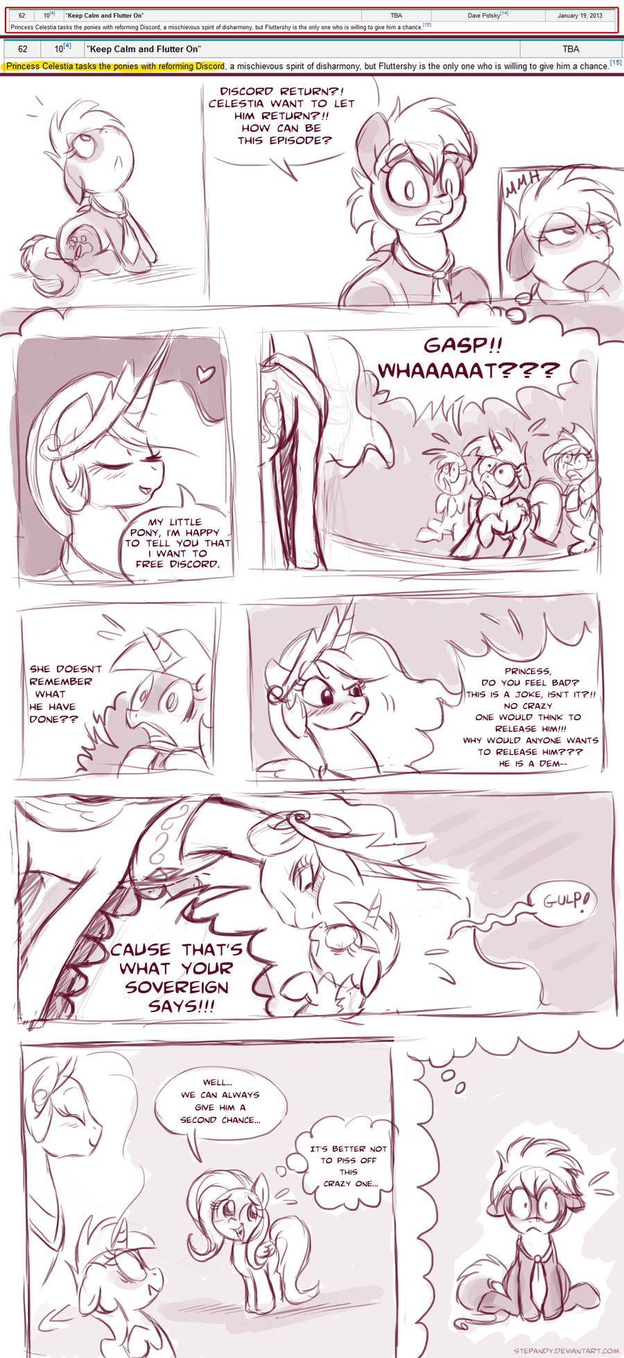 SPOILER - MLP Episode by StePandy