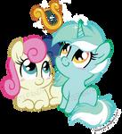 Bon Bon and Lyra