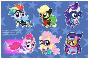 Power Ponies by StePandy