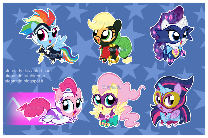 98 Power Ponies Chasing The Relic Thief Mlp Equestria Girls Power